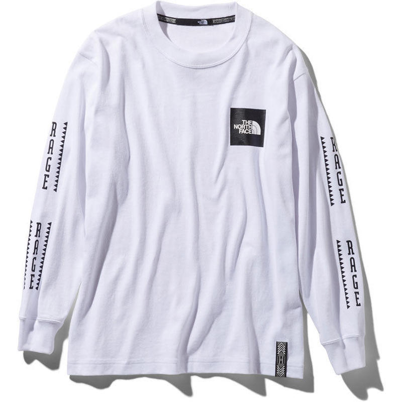 THE NOTH FACE RAGE L/S Box Logo Tee