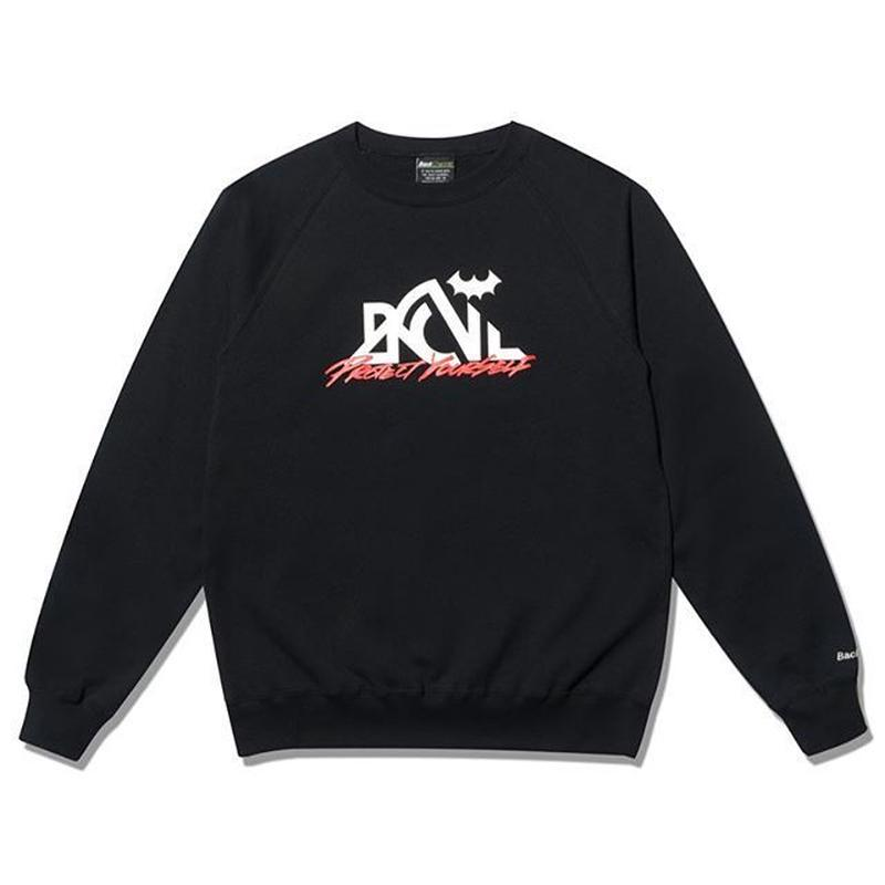 BackChannel-OUTDOOR LOGO RAGLAN CREW SWEAT