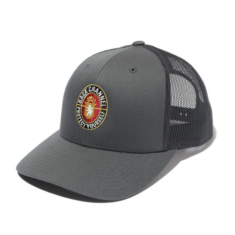Back Channel-BLUNT LABEL MESH CAP