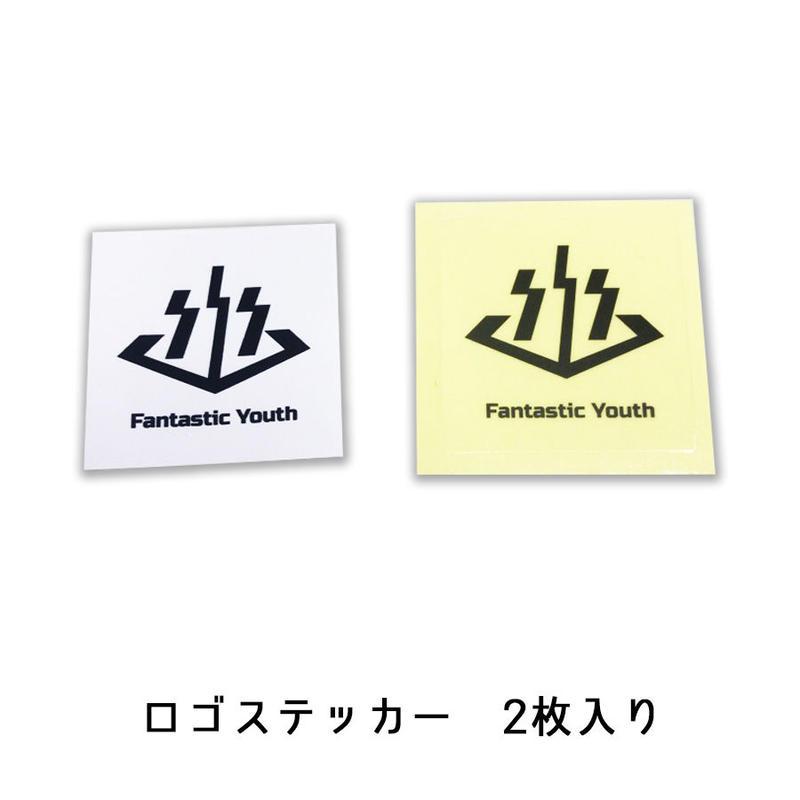 【送料無料】ロゴステッカー(2枚入り)