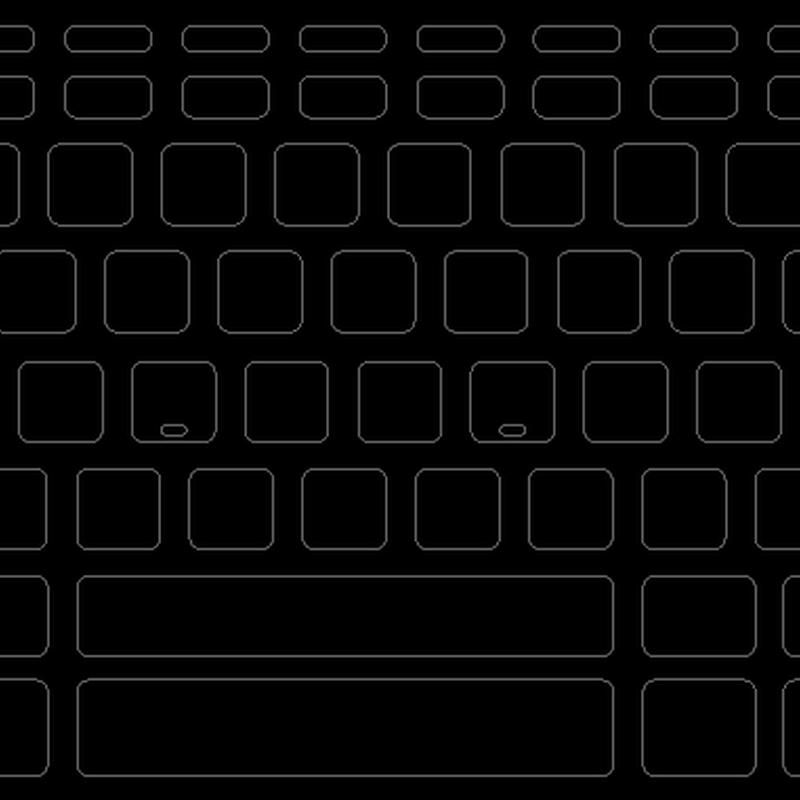 ブラックアウトステッカーfor US Mac 15mm