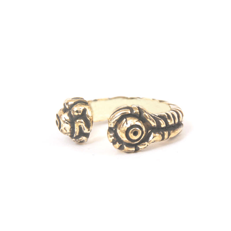 brain ring typeB brass