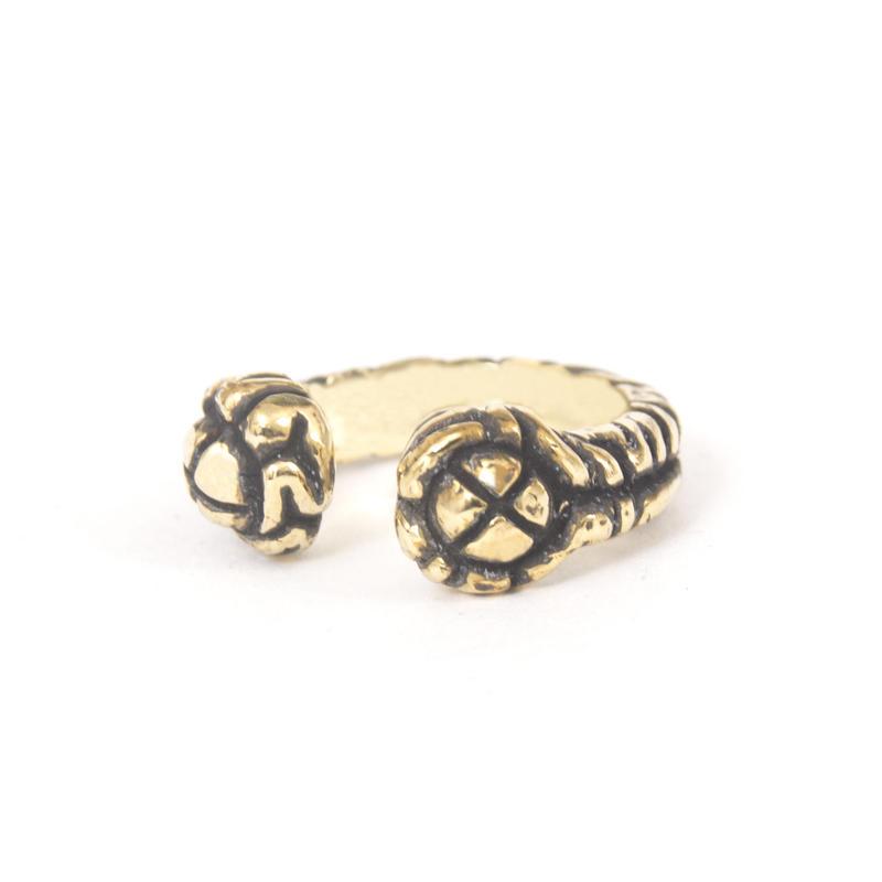brain ring typeC brass