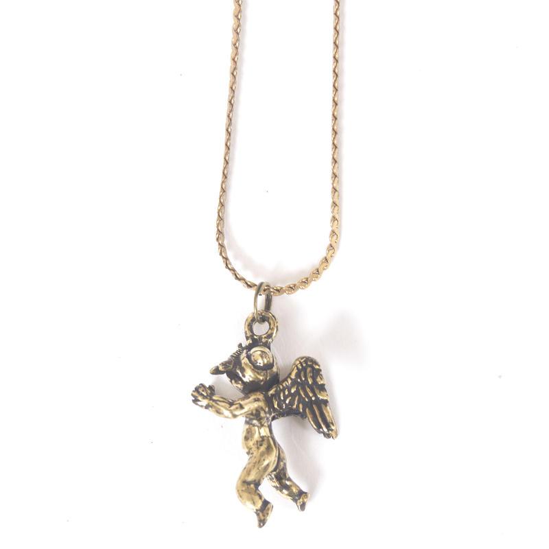 flyangel necklace brass