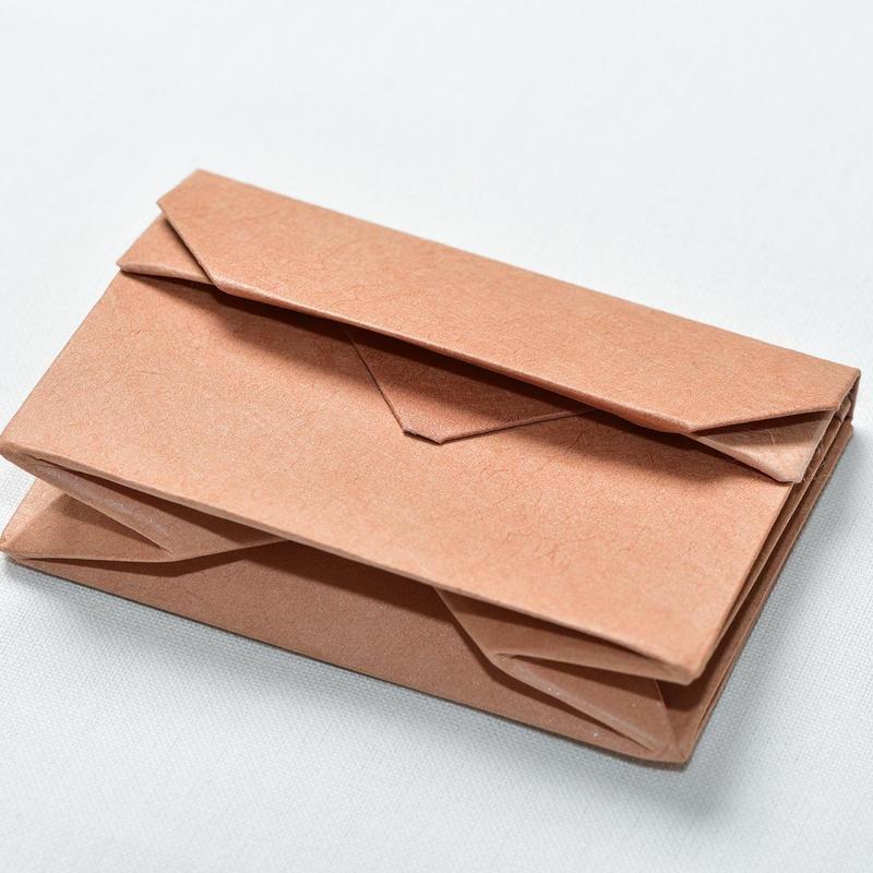 オリンモ(オリガミ×小国和紙 カードケース)  (Color:シブ)