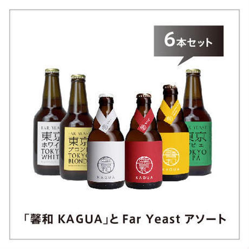 「馨和 KAGUA」とFar Yeast アソート 6本セット
