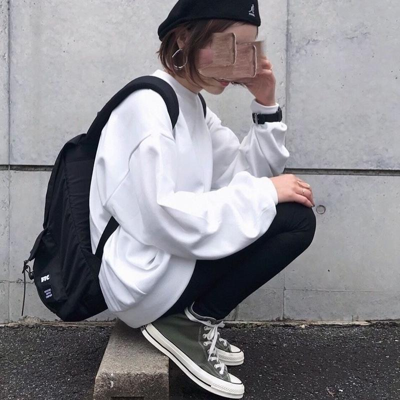 【sold out】bigスウェット white