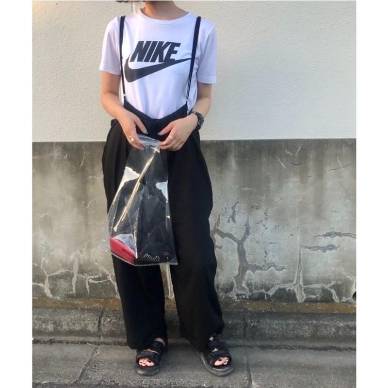 【sold out】リネンワイド吊りパンツ