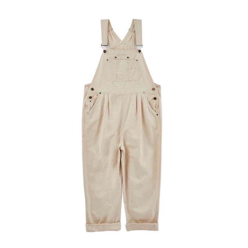 【sold out】whiteデニムサロペット