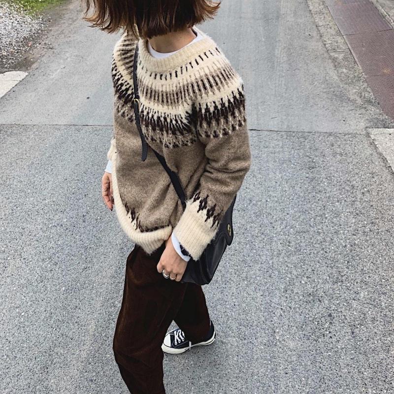 【sold out】ノルディックセーター