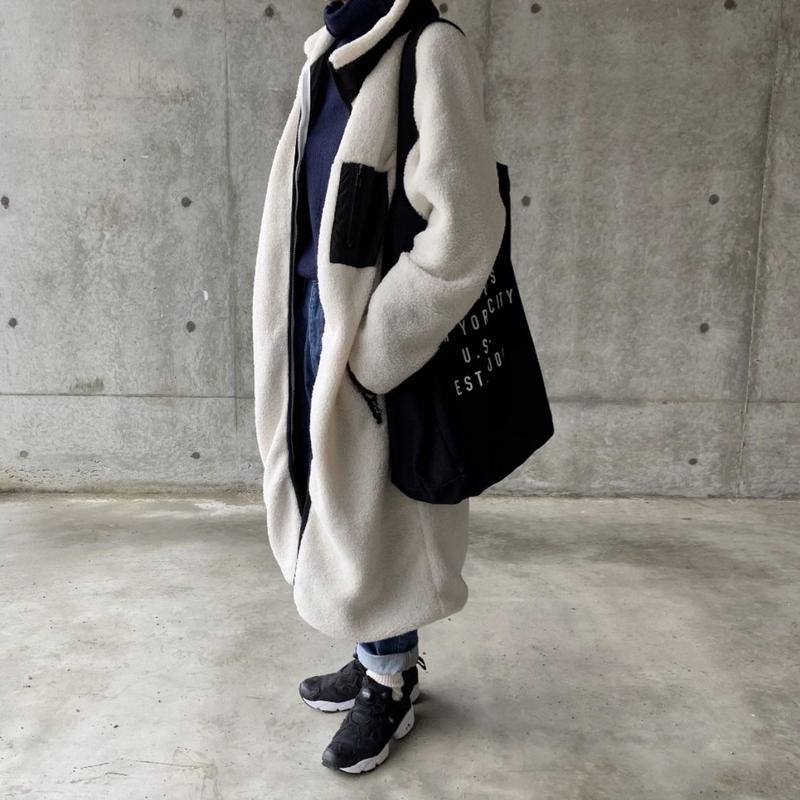 【sold out】ボアロングコート