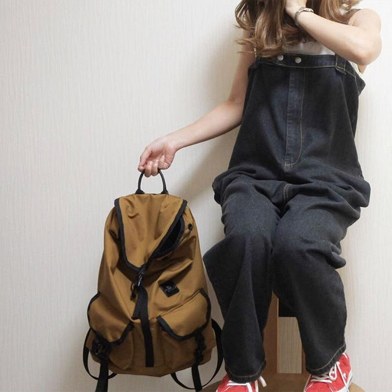 【sold out】デニムサロペット black