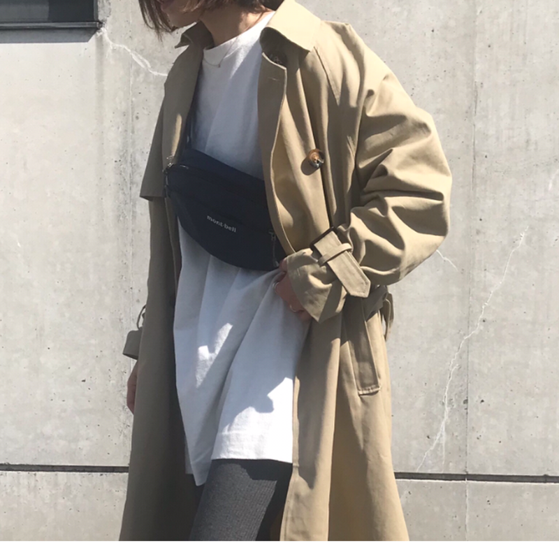 【sold out】ラグランスリーブトレンチコート