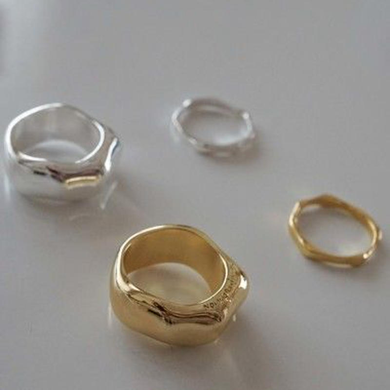 Wide &Slim Ring Set