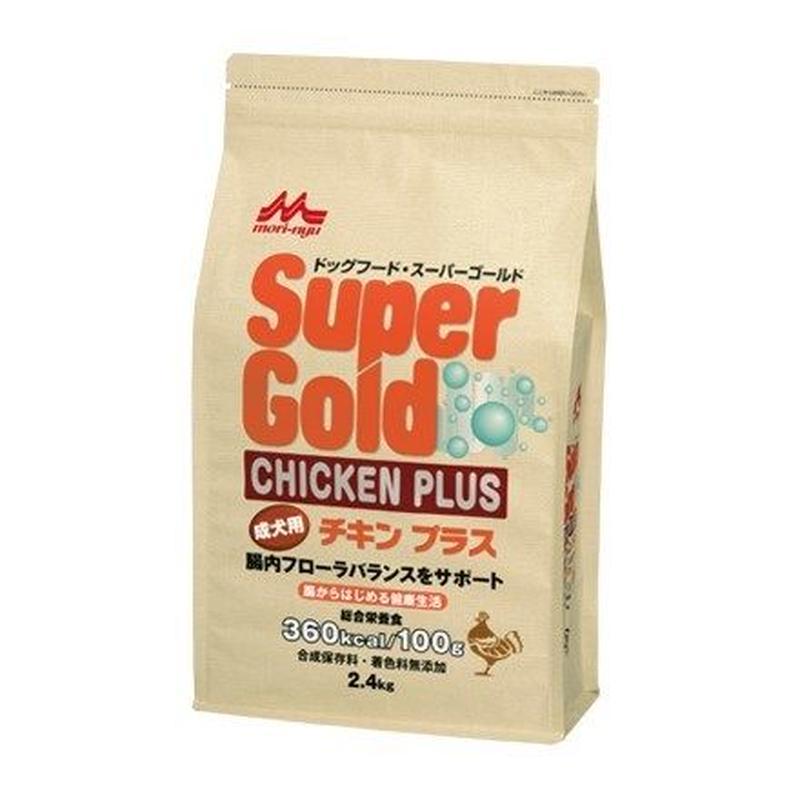 スーパーゴールド チキンプラス 成犬用 2.4㎏