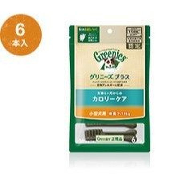 グリニーズプラス 超小型犬用ミニ カロリーケア (体重1.3㎏~4㎏) 6本入