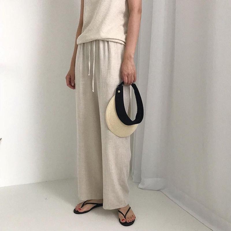 Basic linen pants