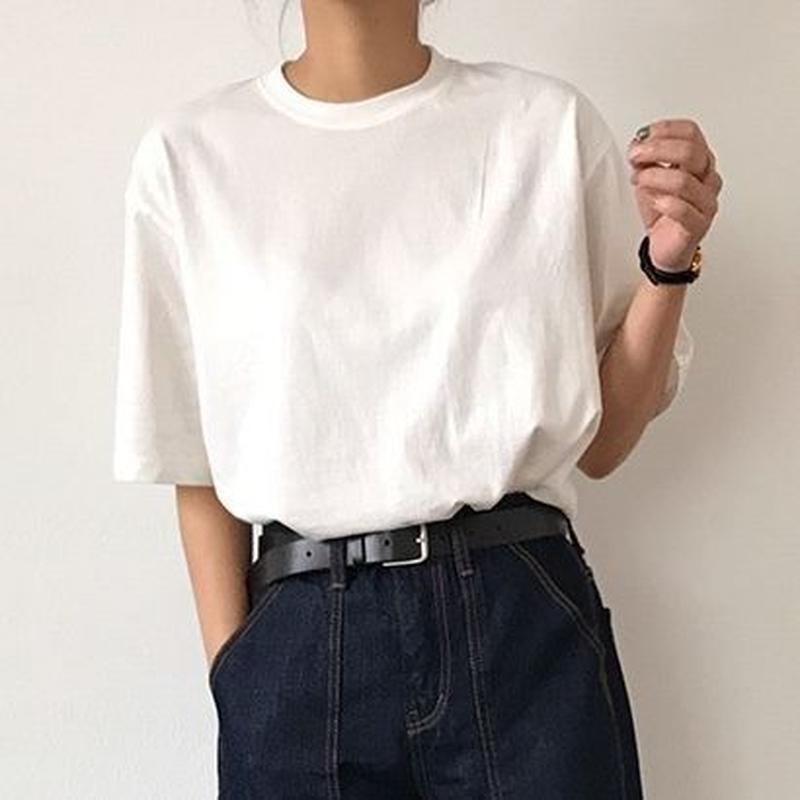Loose Slit T shirt
