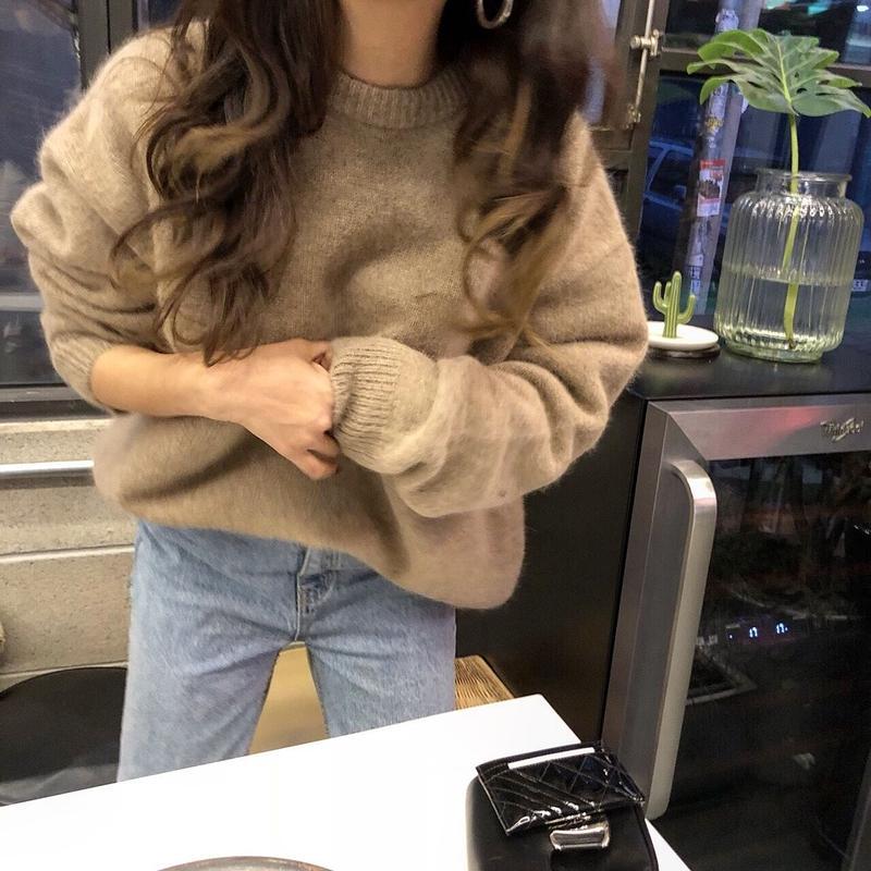wool angora knit