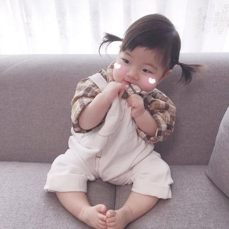 Baby salopette, shirt