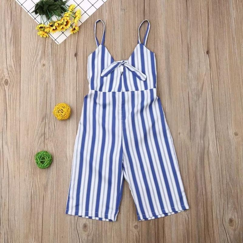 (即納)Stripe summer onepiece