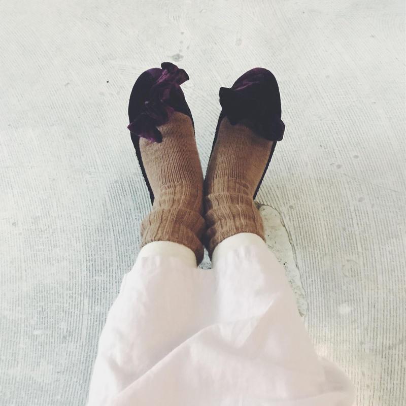 KARMAN LINE wool cotton cashmere socks