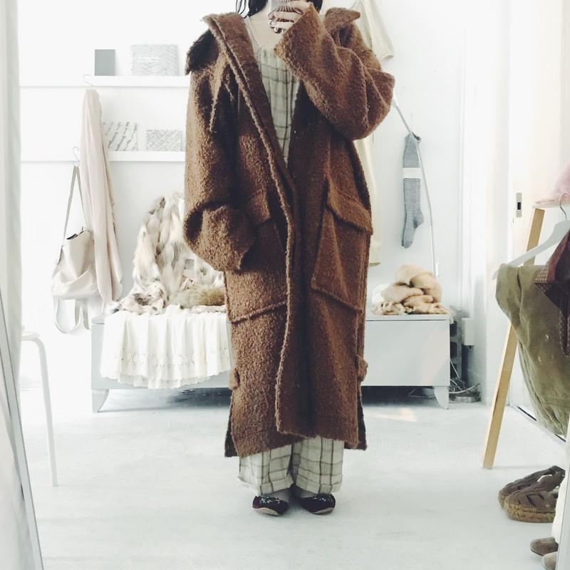 Edwina Horl  duffle coat