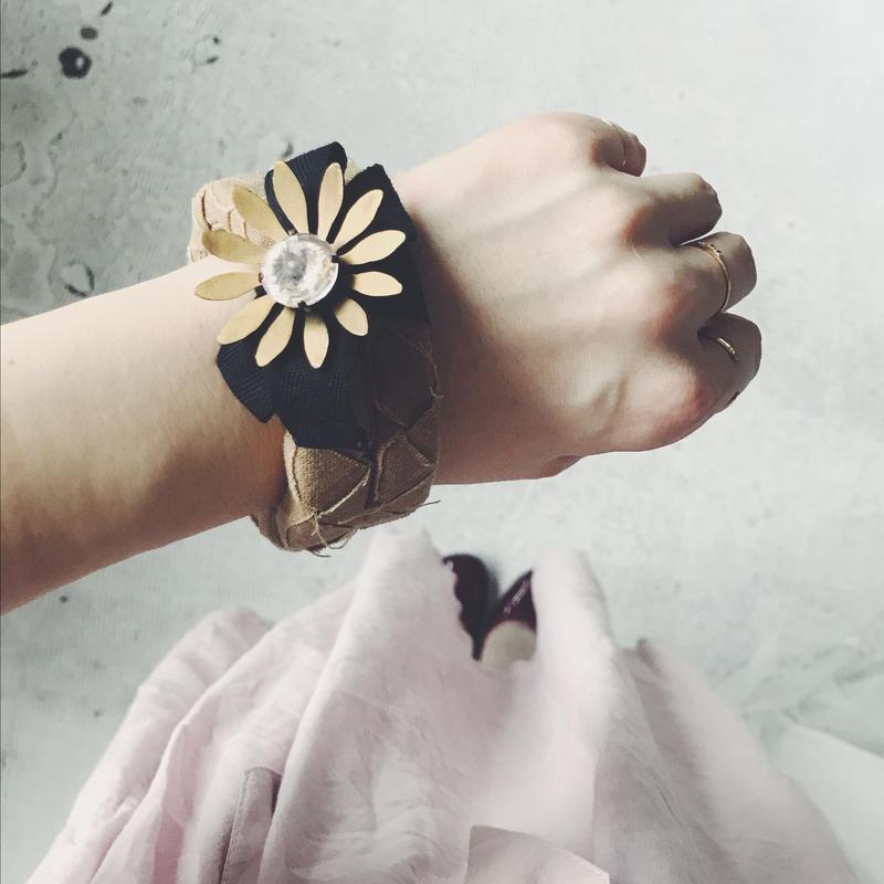 used  MARNI  flower motif  bangle
