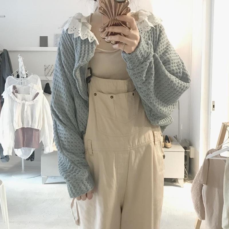3tsui ボレロ knit cardigan