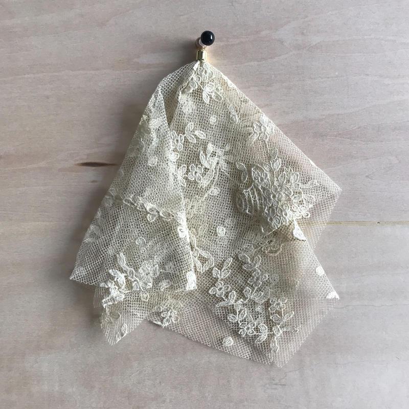 nemunemu さんの vintage lace pierce