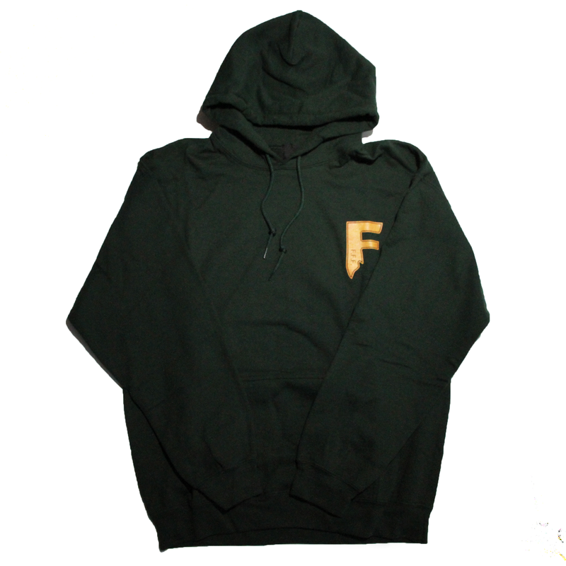 F.F.F. Hoodie FINE FRESH FIERCE[GREEN]