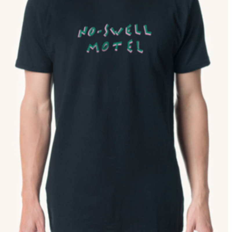 (Pleasant)NO SWELL MOTEL BLACK TEE