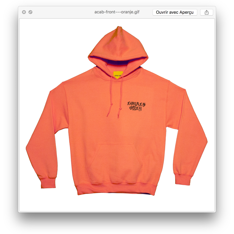 HOTLINE HOODIE safety orange