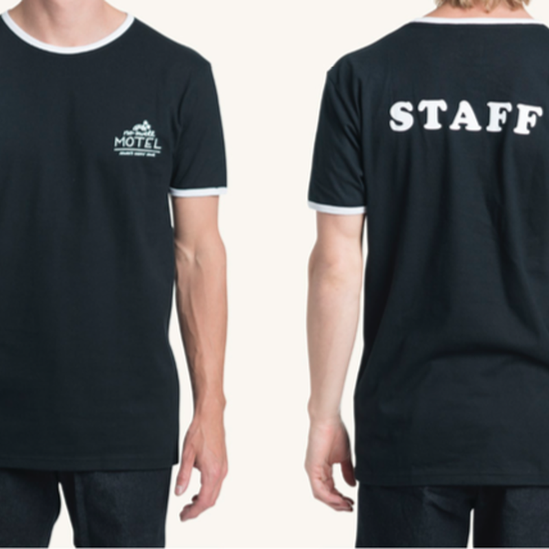 (Pleasant)STAFF WHITE TEE