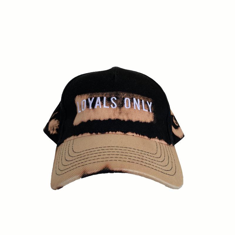 LOYALS ONLY   ( ロイヤルズ オンリー ) Bleached Logo cap 1 ブリーチ ロゴキャップ  1