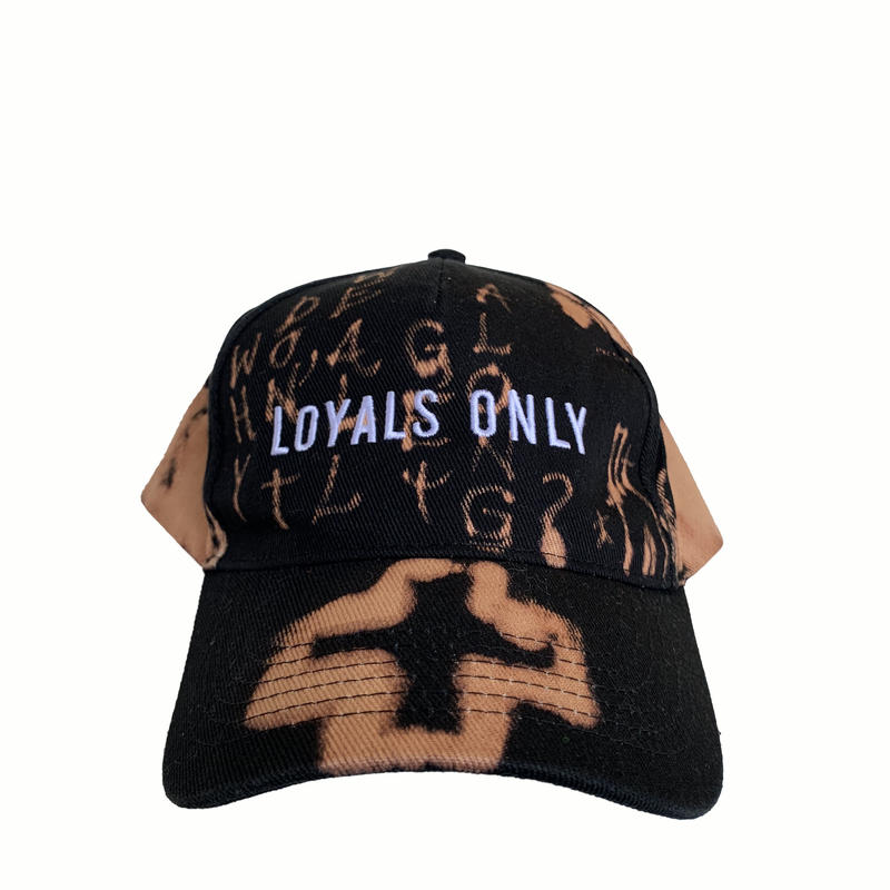 LOYALS ONLY   ( ロイヤルズ オンリー ) Bleached Logo cap 2 ブリーチ ロゴキャップ  2