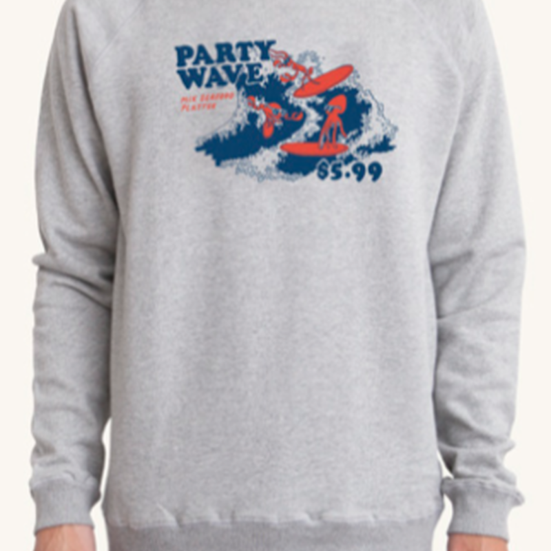 (Pleasant)PARTY WAVE SWEAT
