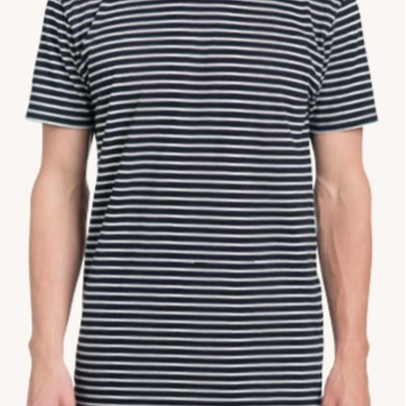 (Pleasant)STRIPED TEE