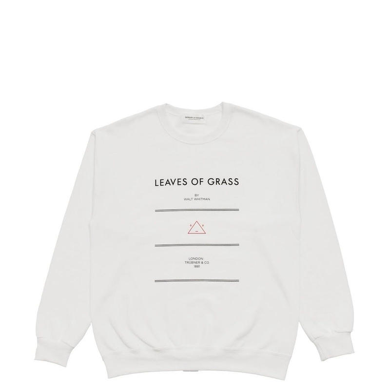 DEMAIN LA SOURCE SWEAT Thoreau White