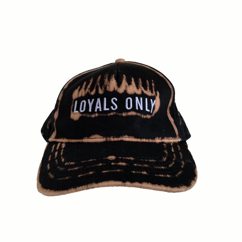 LOYALS ONLY   ( ロイヤルズ オンリー ) Bleached Logo cap 7 ブリーチ ロゴキャップ  7