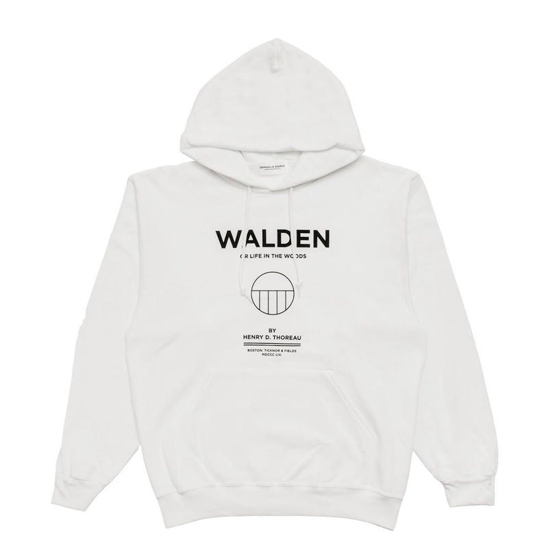 DEMAIN LA SOURCE HOODIE Thoreau White
