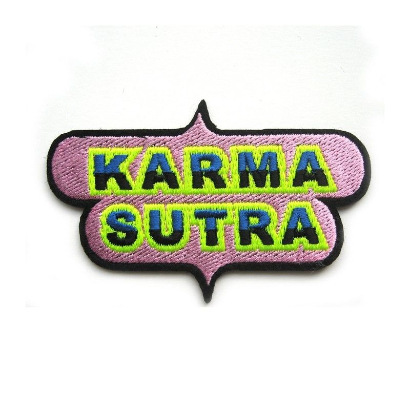 """KARMA SUTRA"" REPAIR PATCH ワッペン"
