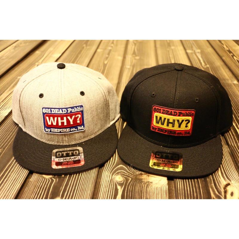スナップバックFLAT-WHY
