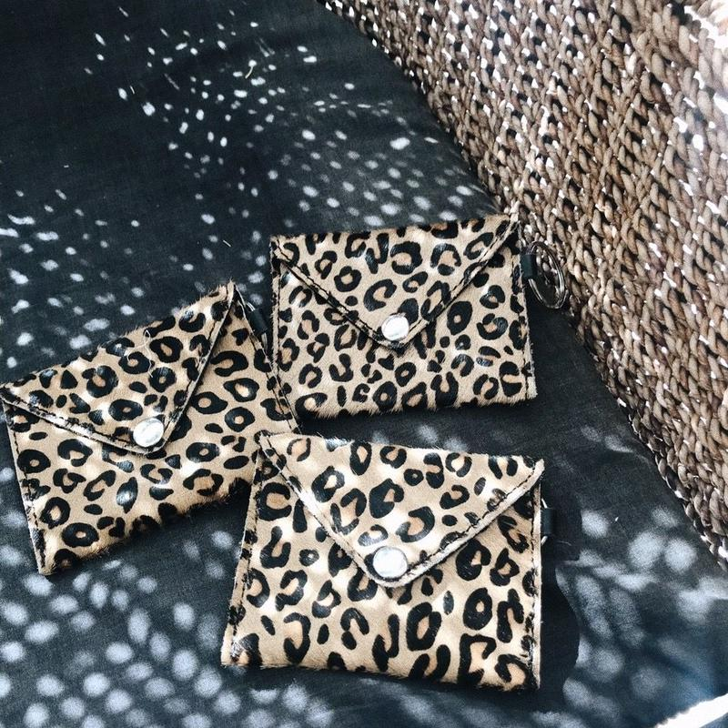 Leopard Coin Case