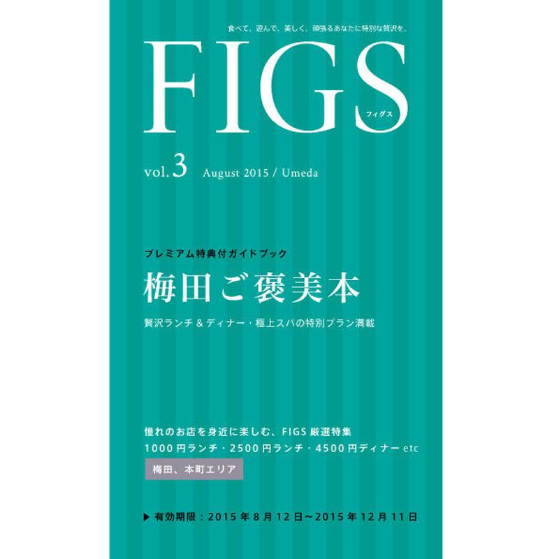 【バックナンバー】FIGS 大阪梅田版 vol.3(8月号)