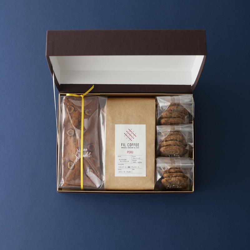 【NEW!!】コーヒーと焼き菓子が好きな方へのギフトセット