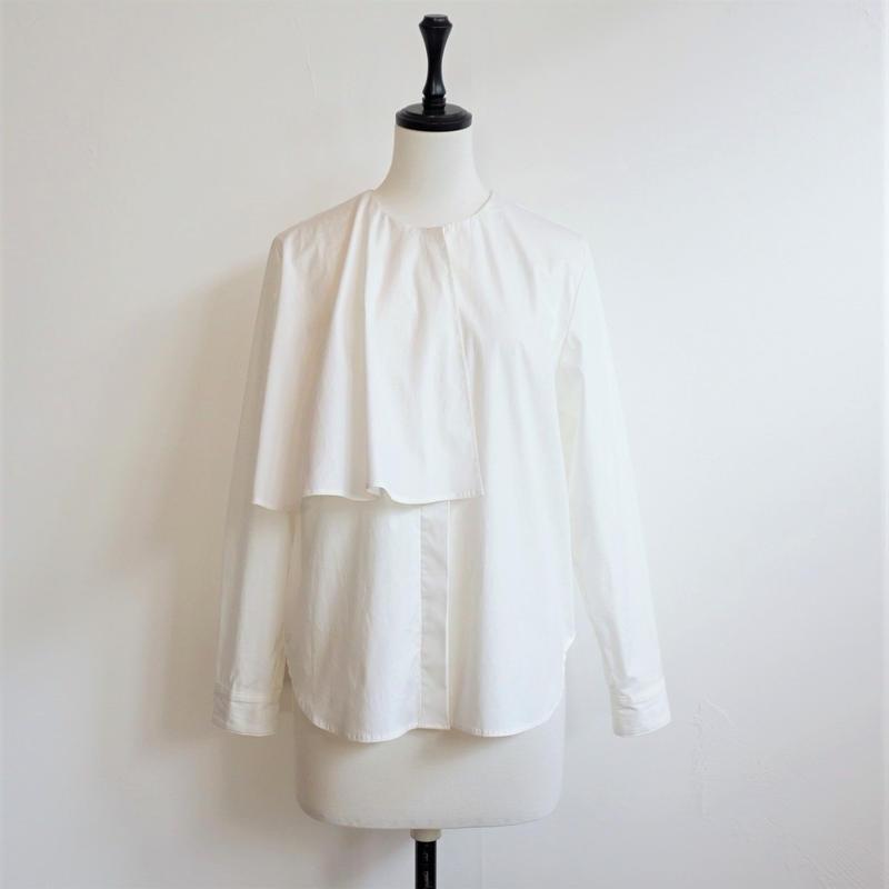 【再入荷】フレアカラーシャツ