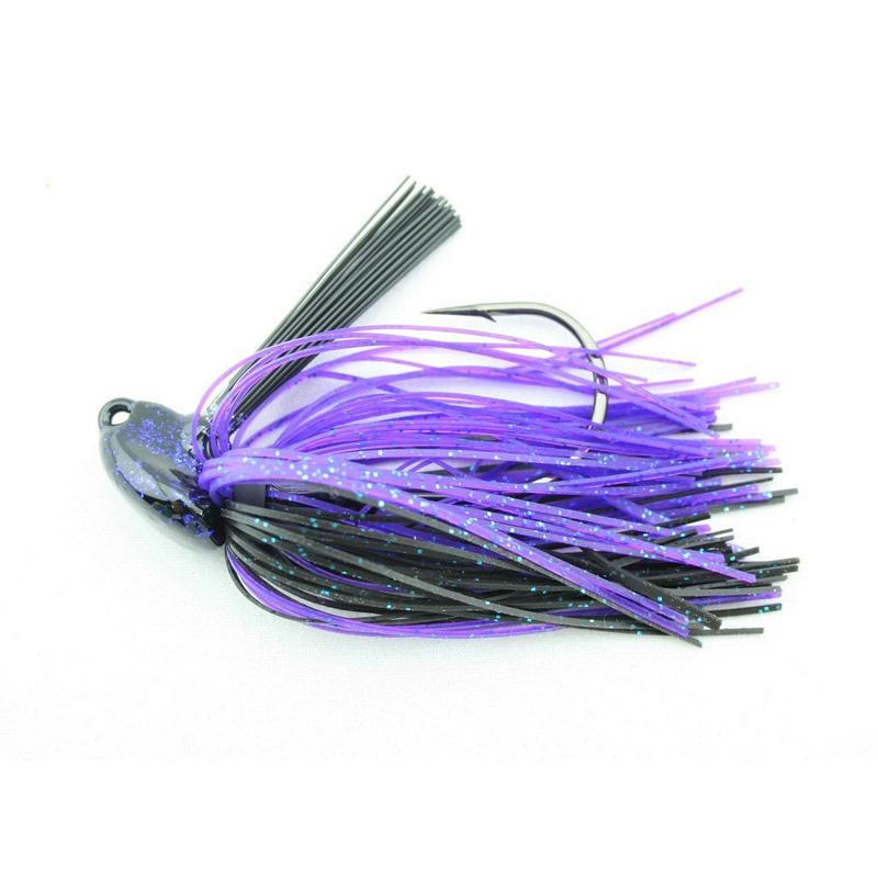 激ヘビーカバー狙いでデカバスと洒落込みましょう!【「JTケニーのグラスウィザード」ラバージグ 1ozJT Kenney Grass Wizard 1oz】カラーJT's Tidal Bluefleck
