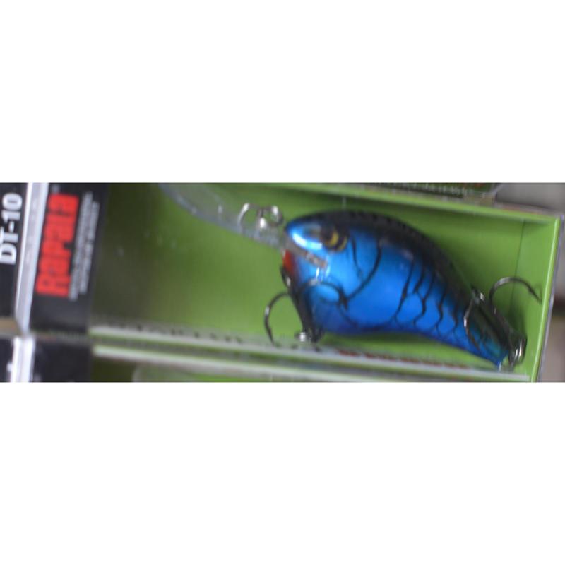 最高傑作クランクベイトだと思います!めちゃくちゃ釣れます!【世界のラパラ DT10】カラーBRU