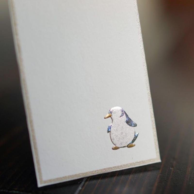 ぽち袋(ペンギン)3枚入